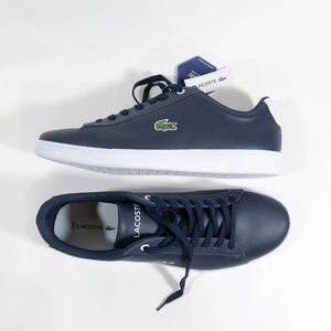 Lacoste HYDEZ Size 11 Navy Blue Sneakers
